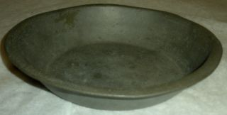 Antique C 1760 Pewter Bowl By Samuel Ellis Hallmarked & Initialed Vafo photo