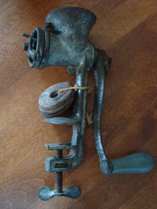 Antique Rollman No.  32 Food Grinder 1914 photo