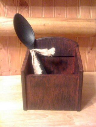 Primitive Wooden Box photo