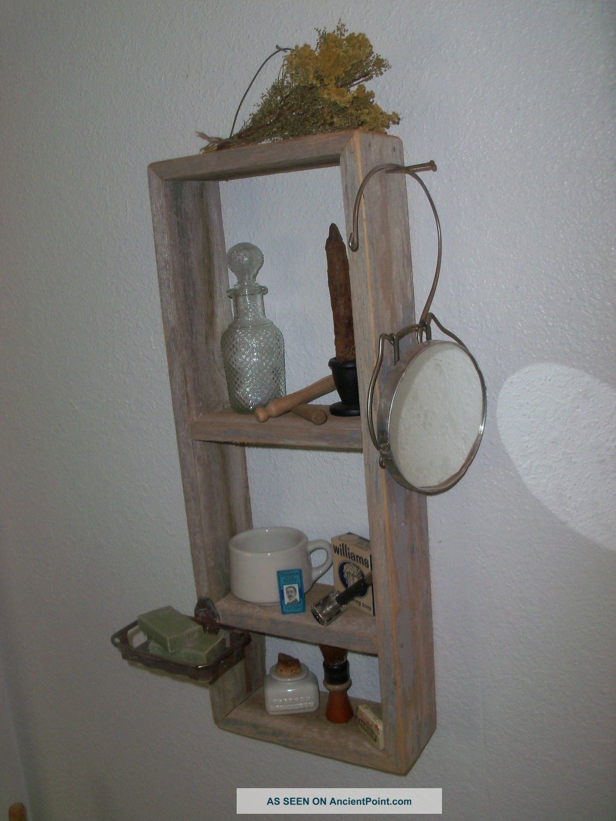 Vintage Bathroom Shelf 56