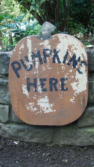 Iowa Farm Pick - Old Farm Stand Sign -