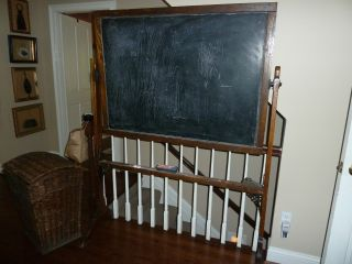 Vintage Schoolhouse Blackboard photo