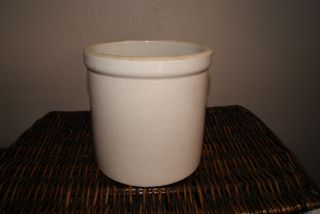 Antique 1 Gal Crock photo