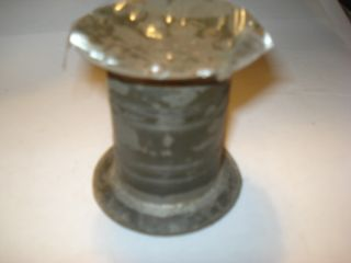 Early 19th Century Tinware Toleware Sander Pouce Pot Desk Set Item photo