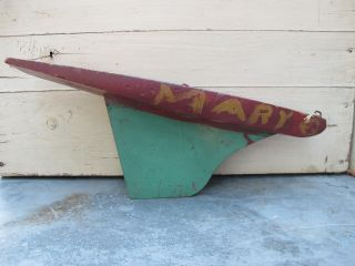 Smaller Antique Pond Boat Hull photo