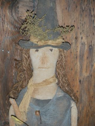 Deep Wood Primitive Witch Doll photo