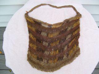 Tribal Net Bag From New Guinea photo