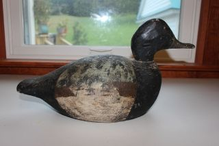 Black Duck Vintage Duck Decoy photo