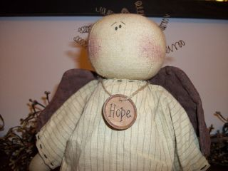 Primitive Hope Angel Doll Adorable photo