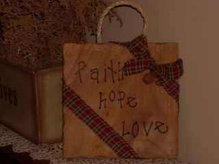 Primitive Solid Wood Wall Hanging/fabric/gift/ photo