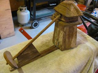 Antique Wooden Windmill Whirley Gigg. photo