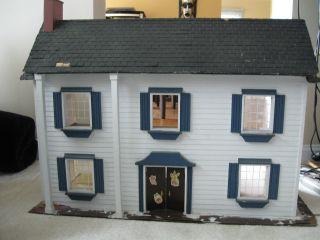 Huge 1950 ' S Americana Dollhouse photo