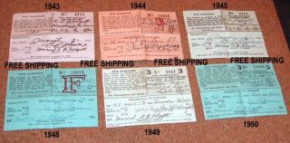 6; 1940 ' S New Hampshire Nonresident Fishing Licenses photo