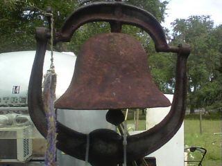 Antique Farm Bell. . .  One photo