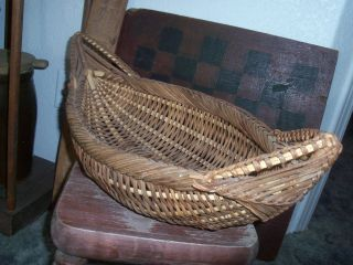 Vintage Large Display Basket - From A Private Basket Collection photo