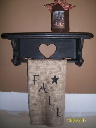 Primitive Wood Shelf Gathering photo