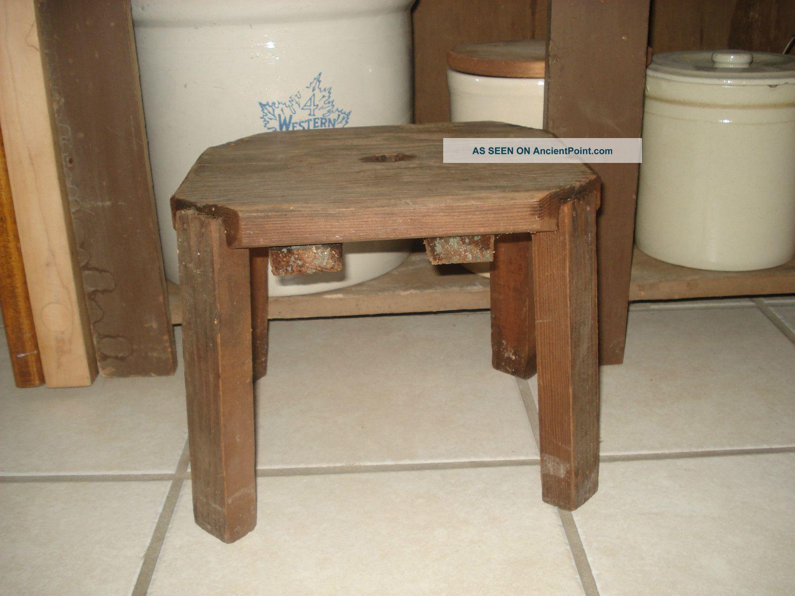 Vintage Wood Stool Osnovosti Ru