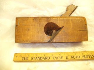 Aprimitive Antique Wood Block Plane By W.  Allison Late 1800s Early 1900s photo