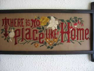 Antique Sampler Style,  Kit,  There Is No Place Like Home photo