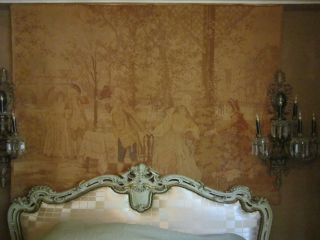 Xl French 19c Tapestry Alonzo Perez 57x75