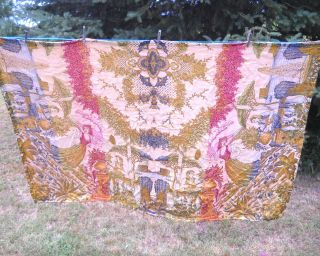 Vintage Woven Tapestry Material,  42