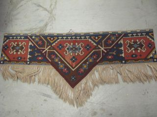 Portuguese Needlepoint Wall Decor Hand Stitched Wool With Tassels 56