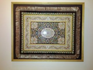 The Agra Carpet - Ancient Moghul Design Safavi Dynasty photo