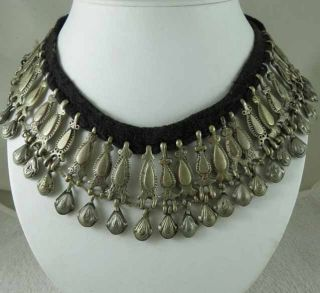 Afghan Chocker Belly Dance Jewelry Necklace photo