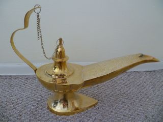 Antique Gini Lamp photo