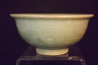 An Antique Chinese Celadon Green Glazed Bowl photo