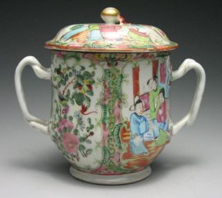 Chinese Famille Rose Export Porcelain Loving Cup photo