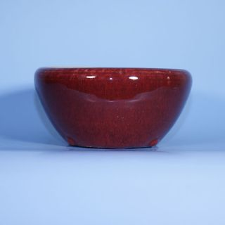A 19th Century Chinese Porcelain Langyao Ox Blood Censer photo