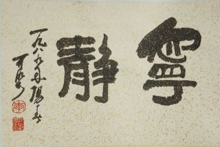Chinese Scroll Painting & A0003 photo