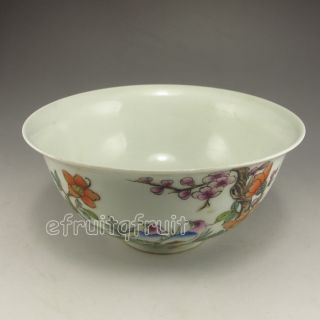 Chinese Porcelain Bowl W Qing Dynasty Guang Xu Mark photo