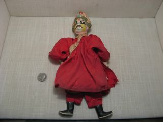 Antique Chinese Hand Puppet Amazing Detail photo