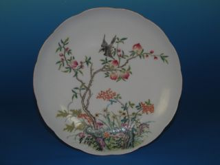 Chinese Bucket Color Porcelain Flower And Birds Vase photo