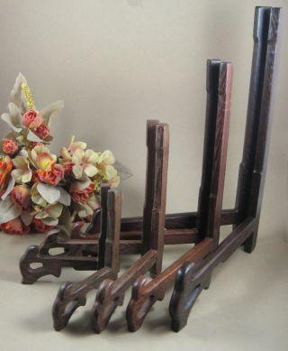 4x Chinese Hardwood 4