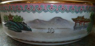 ~~~republic Of China (1911 - 1940) Wonderful Large Porcelain Bowl With Marks~~~ photo
