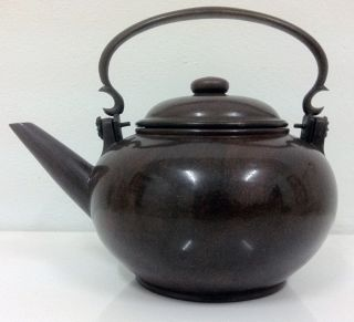 Chinese 19th Qing Dynasty Yixing Teapot photo