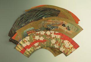 Japanese Fan Surface / Senmen