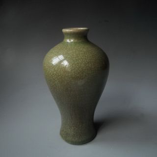 China Ancient Longquanyao Celadon Plum Bottle Jingdezhen Ceramic Household 8 photo