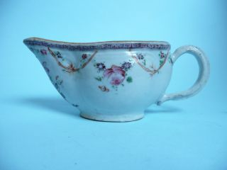 Antique Chinese 18th Century Sauce Boat 7