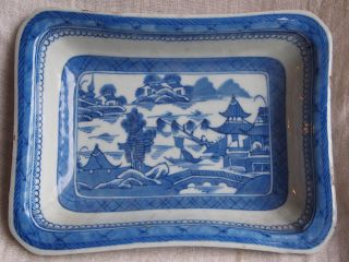 Chinese Export Porcelain Canton Bowl Or Dish C1850 Ref Cl photo