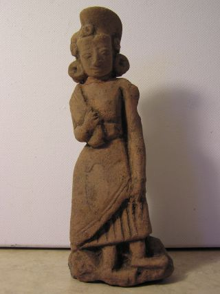 Fine Majapahit Terracotta Sculpture 14th Century photo
