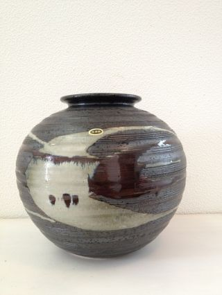 151 ~shigaraki Ware Flower Vase~ Japanese Antique Item photo