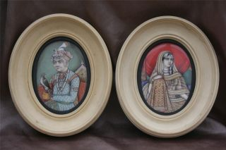 Antique Indian Miniature Paintings photo