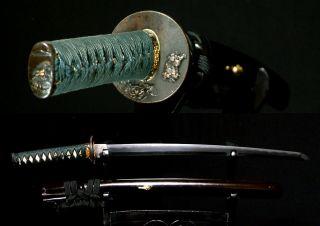 5506 Japanese Samurai Sword Edo Wakizashi Sword In Excellent Fittings Koshirae photo