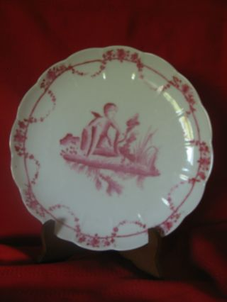 Antique Famille Rose Chinese Canton Export Porcelain Plate Dish photo