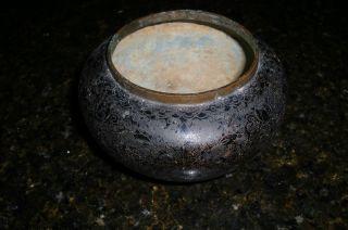 Vintage Or Antique Asian Cloisonne Bowl photo