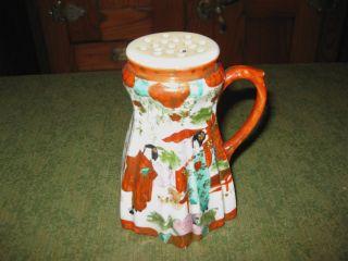 Vintage Oriental Porcelain Shaker photo